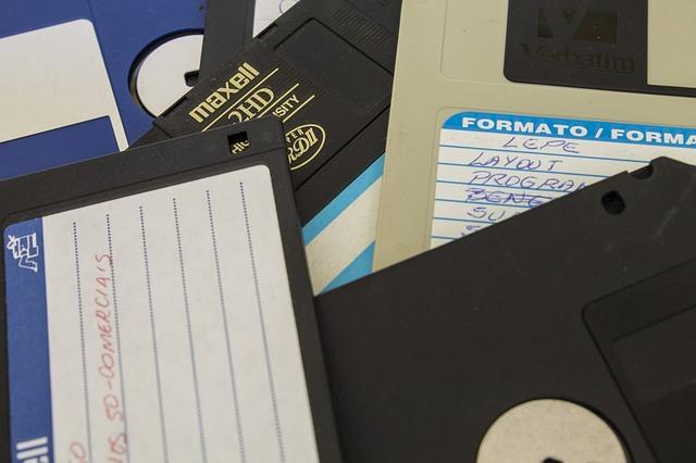 diskety a data