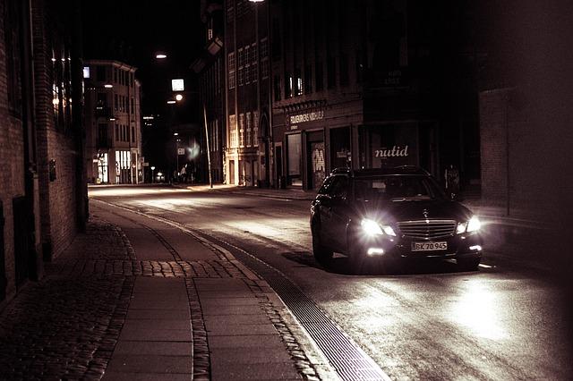 světla vozu