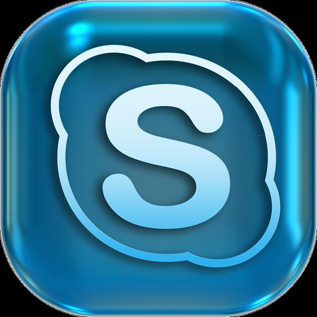 symbol skype