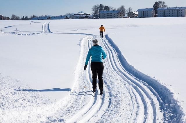 cesta pro běžkaře