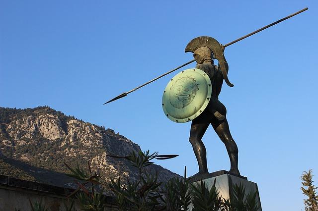 řecká socha