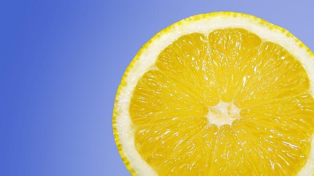 plátek citronu